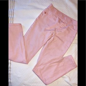 Justice peach light pink jeggings Jeans 👖 12